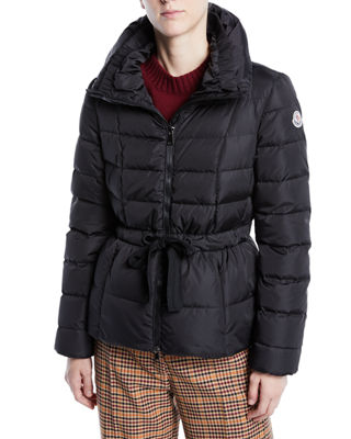 Moncler Avocette Channel-Quilted Utility Puffer Jacket
