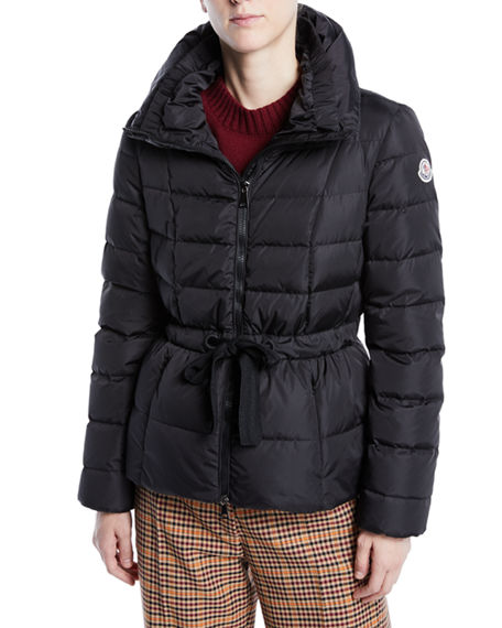 moncler padded parka coat