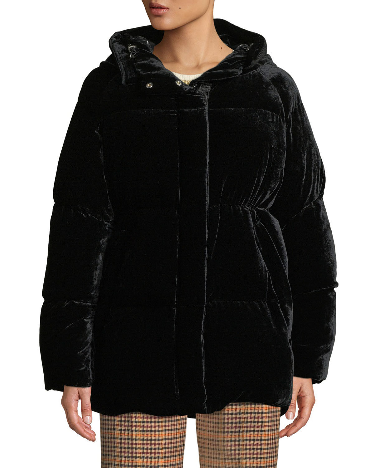 7fc1d8892816 Moncler Butor Velvet Puffer Coat and Matching Items   Matching Items ...
