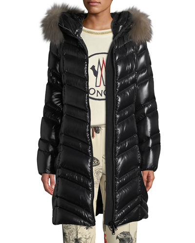 480050bb9 Moncler Black Down Fill Coat