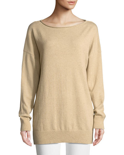 Cashmere Relaxed Pullover Sweater