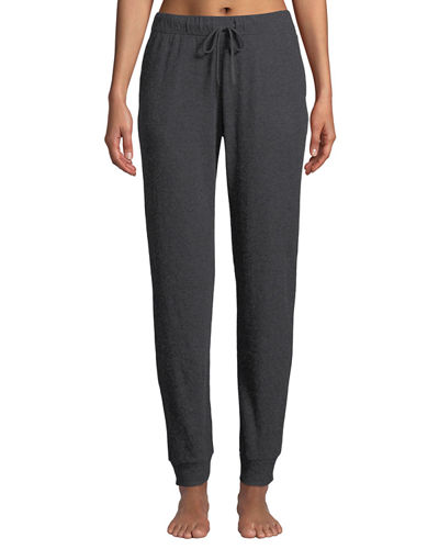 Dani Cotton-Cashmere Jogger Pants