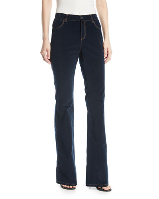 Mercer Curated Corduroy Flared Pants, Ink