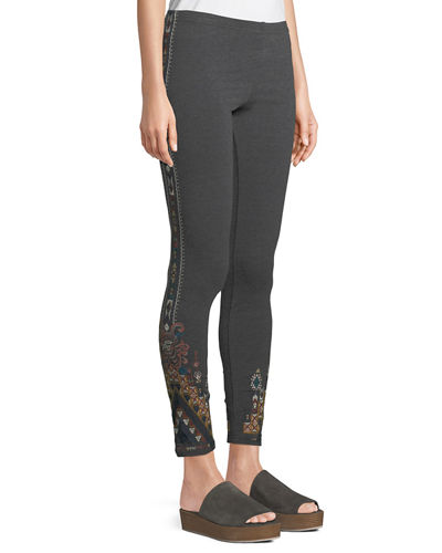 Nala Leggings with Embroidery, Plus Size