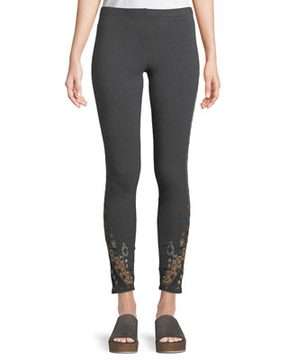 Johnny Was Nala Leggings with Embroidery, Plus Size