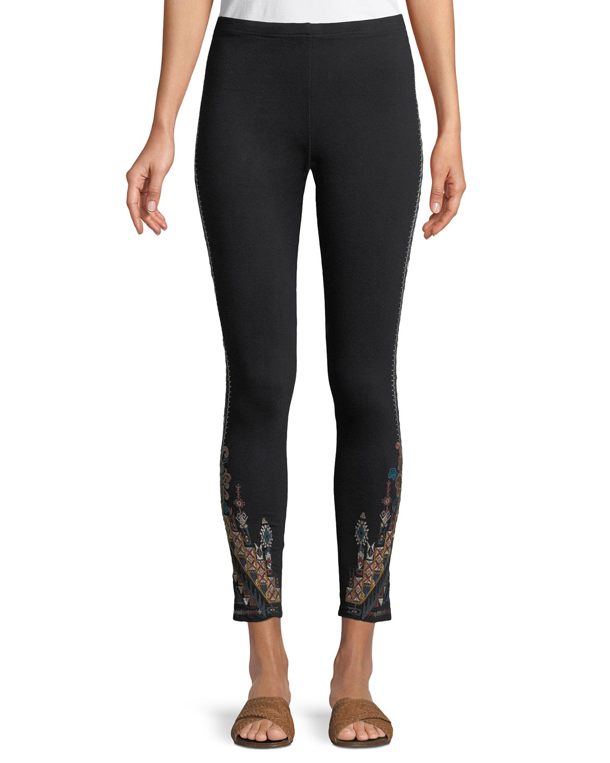 Nala Leggings with Embroidery
