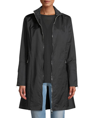 ANATOMIE Farreta Zip-Front Lightweight Windproof Jacket in Black