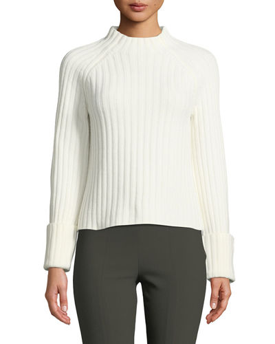 86c1b25f5a Cashmere Mock Neck Sweater