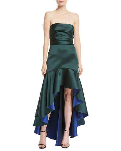 Quick Look. Marchesa Notte · Strapless High-Low ... ff400d3c8