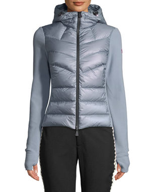 c56ff982817c Moncler Grenoble Combo Jacket w  Fleece Knit   Chevron Quilted Front