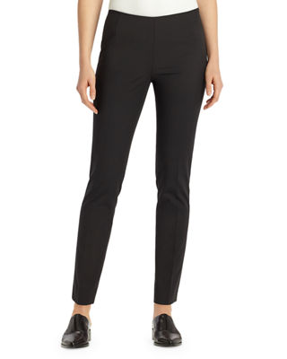 Lafayette 148 New York Stanton Bi-Stretch Slim-Fit Pants