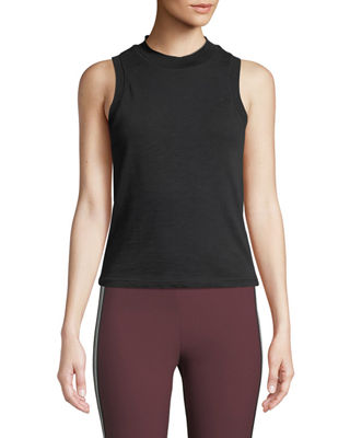 rag & bone/JEAN Jolie Cropped Cotton Tank Top