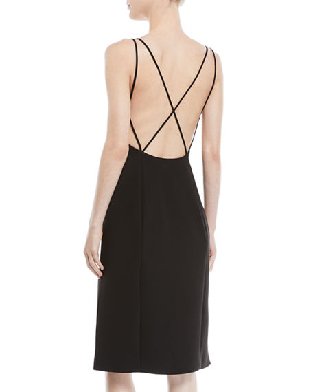 Image 2 of 2: Rag & Bone Denton Strappy Low-Back Sleeveless Dress