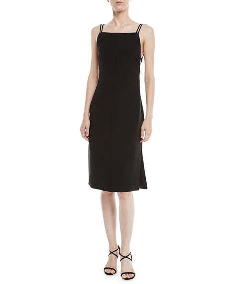 Image 1 of 2: Rag & Bone Denton Strappy Low-Back Sleeveless Dress