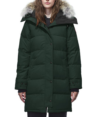 Canada Goose Shelburne Slim-Fit Parka w/ Removable Fur Trim