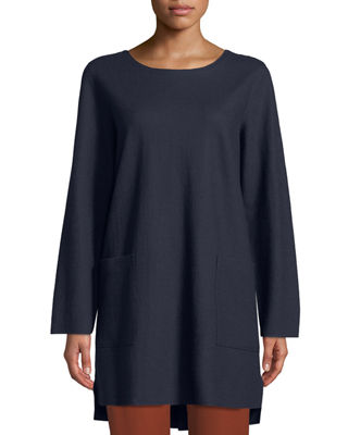 Eileen Fisher Boiled Wool Jersey Tunic and Matching
