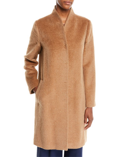 Suri Alpaca Long Coat