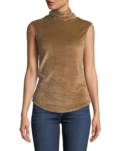 df90e531b5572 Fitted Turtleneck Top
