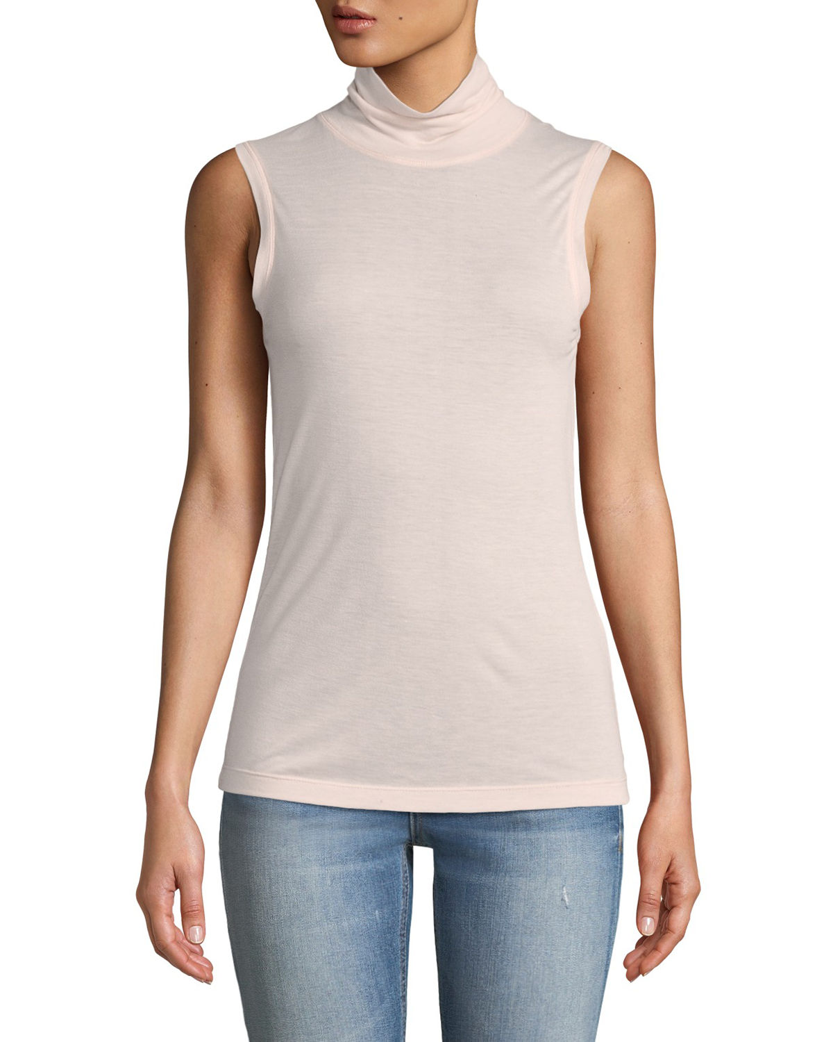 Briony Sleeveless Turtleneck Top