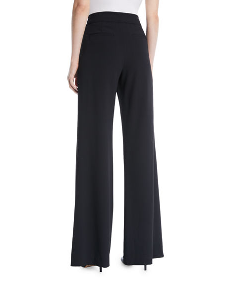 Image 2 of 3: Alice + Olivia Dylan High-Waist Wide-Leg Pants