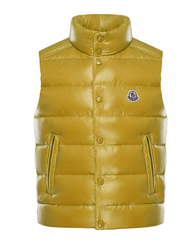 Tib Quilted Puffer Vest, Size 4-6