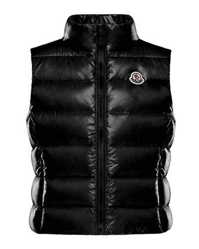 Ghany Quilted Puffer Vest, Size 4-6