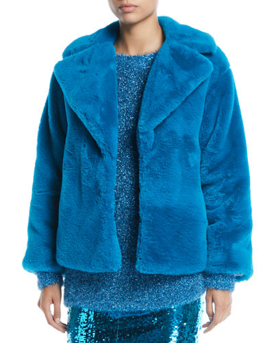 Thora Faux-Fur Oversized Coat