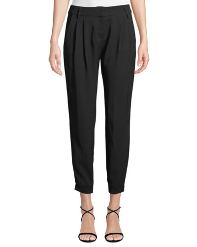 Morgan Mid-Rise Cropped Pants