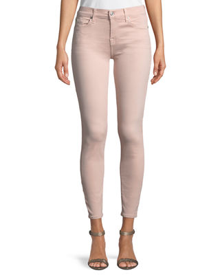 7 for all mankind The Ankle Skinny Coated