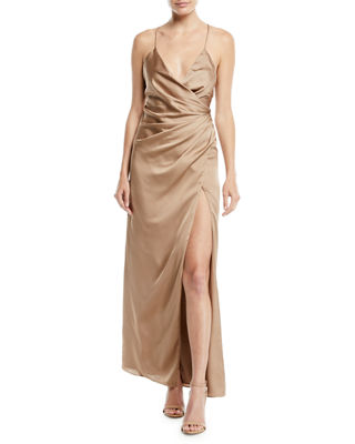 Fame and Partners The Zarita Sleeveless V-Neck Draped
