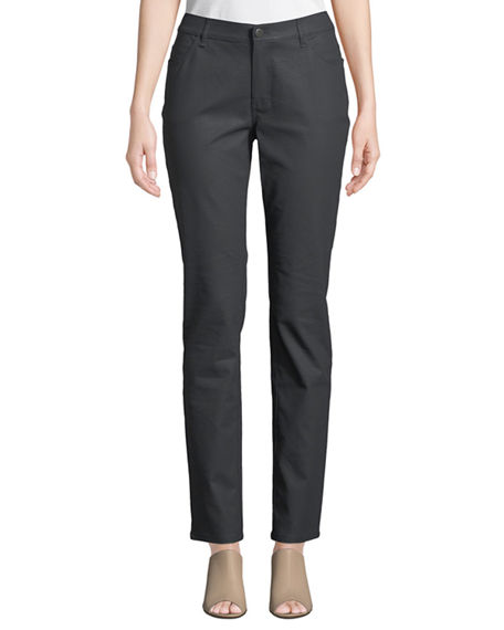 Image 1 of 3: Lafayette 148 New York Thompson Curvy Slim-Leg Jeans