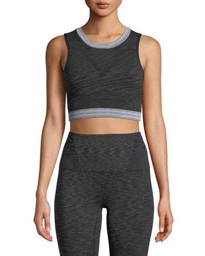 LNDR Space Knitted Performance Crop Top