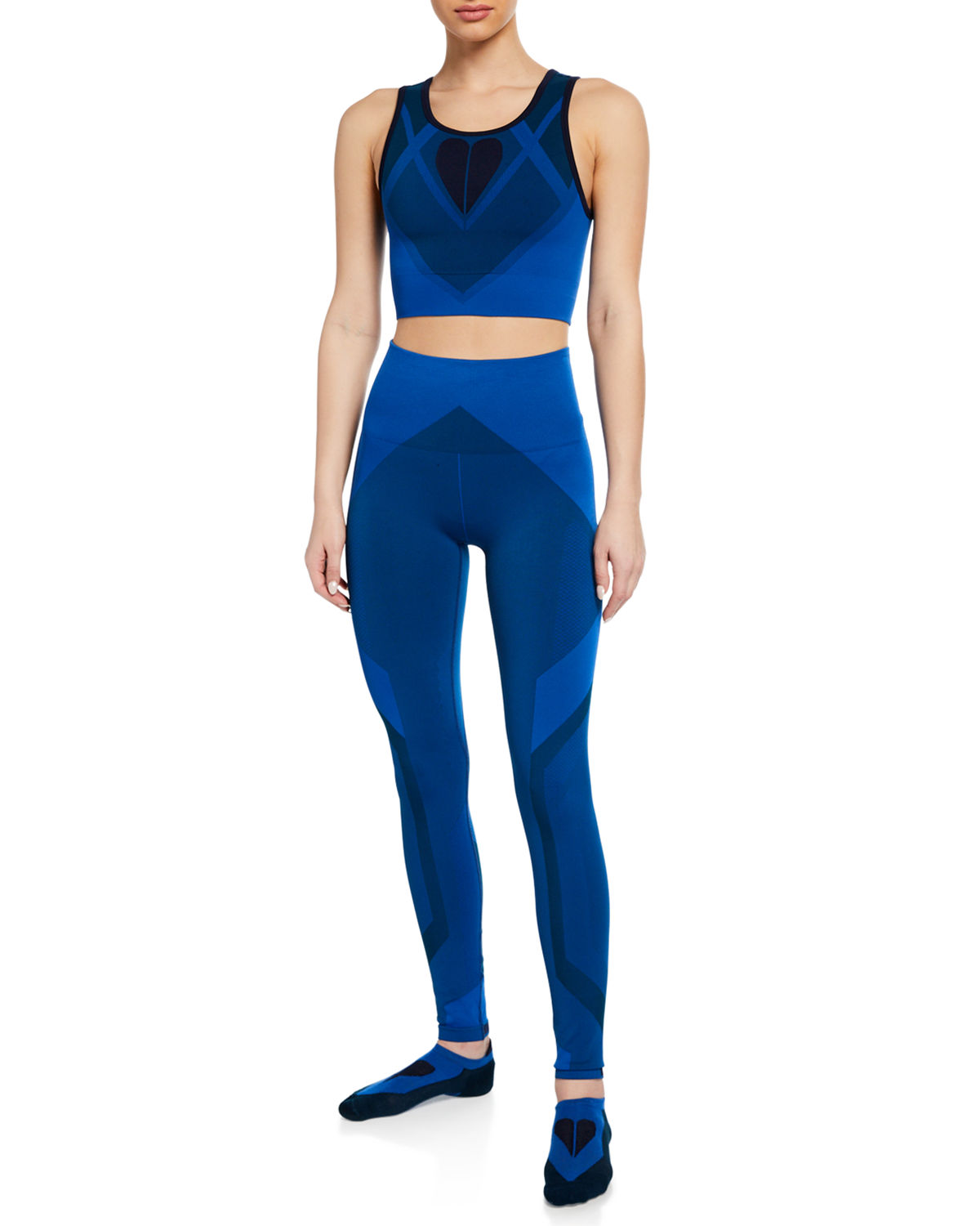 485bbe693dc0a LNDR Seamless Sports Bra & Leggings Gift Set with Matching Socks ...