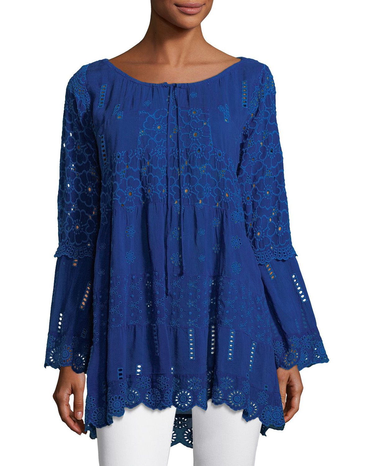 Mixed Tiered Tunic