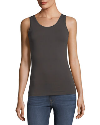 Majestic Paris for Neiman Marcus Soft Touch Scoop-Neck