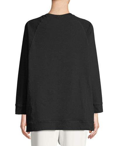 Slubby Organ Cotton Jersey Box Top