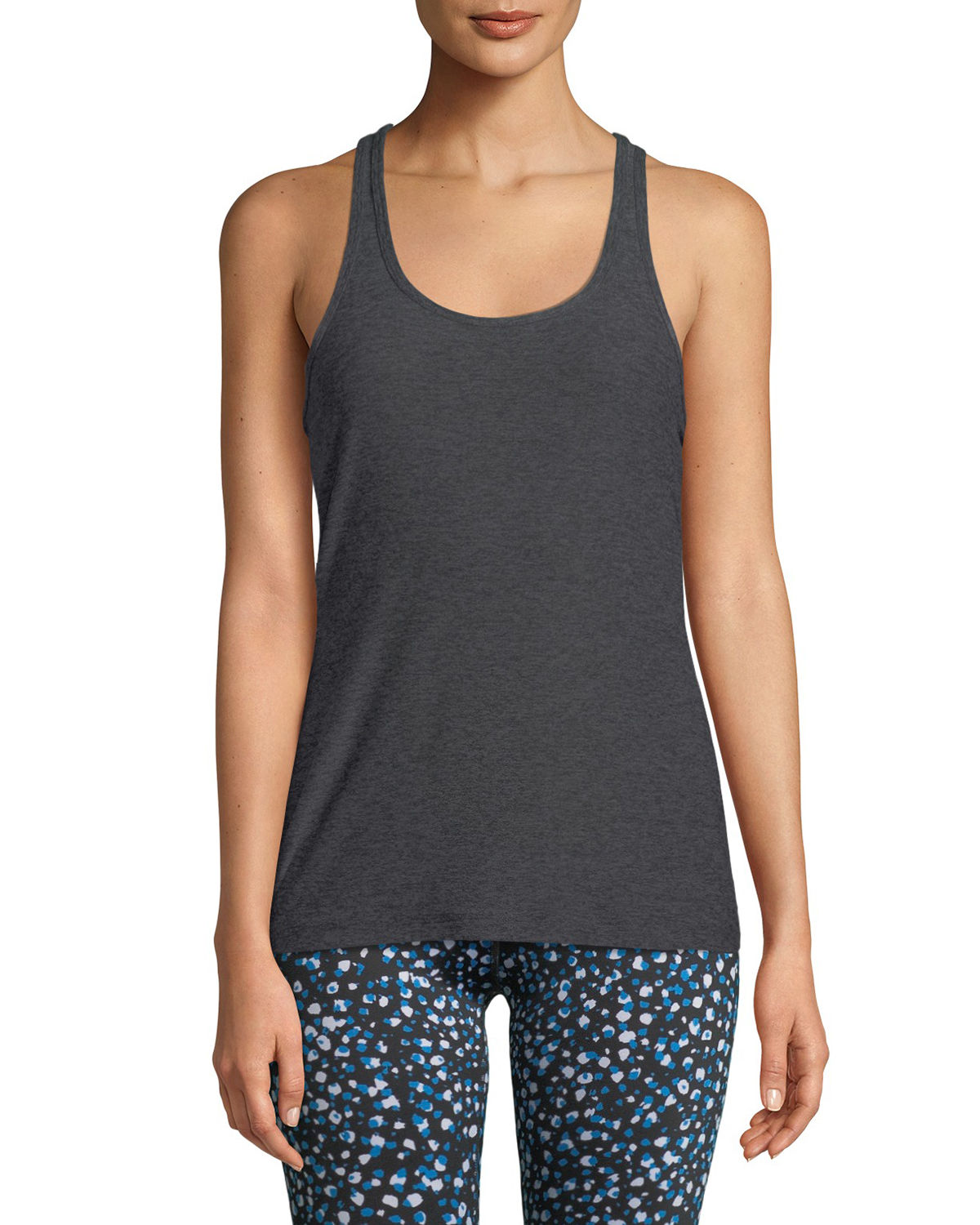 Travel Scoop-Neck Racerback Tank