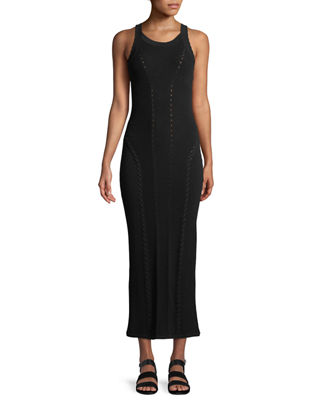 Rag & Bone Brandy Sleeveless Fitted Knit Maxi