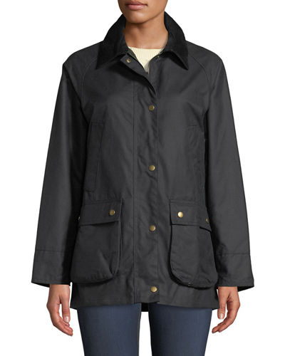 Acorn Waxed Jacket w/ Collar