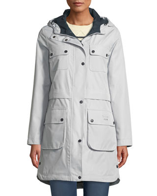 Barbour Women's Isobar Waterproof Jacket w/ Four Pockets