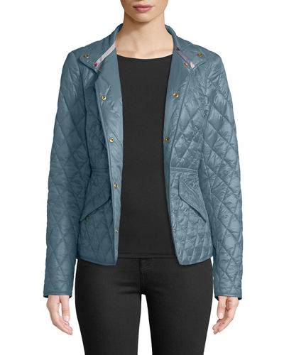 Anni Diamond-Quilted Jacket