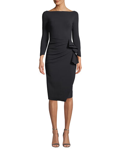 Zelma Ruched Body-Con Dress