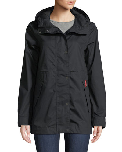 Waterproof Cotton Smock Jacket w/ Hood