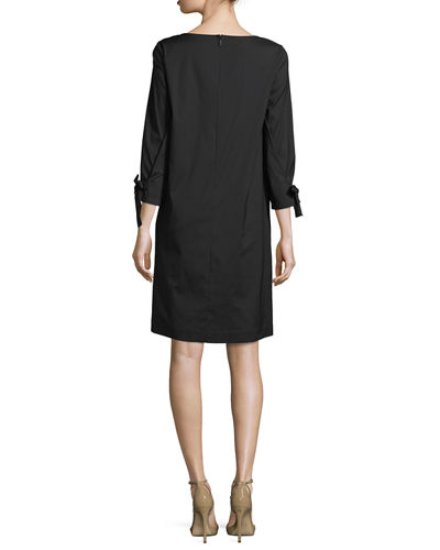 Paige 3/4-Sleeve Jersey Dress
