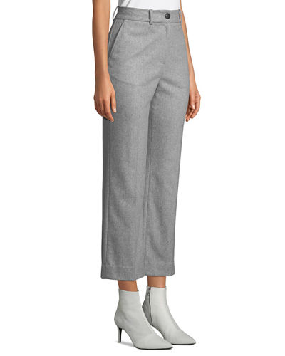Rag & Bone Libby Cropped Flare-Leg Pants