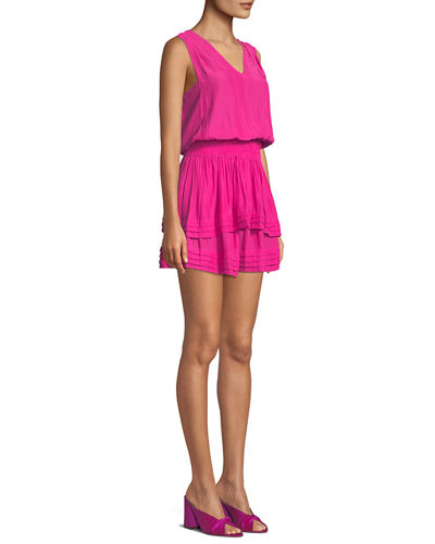 Raquel Sleeveless Mini Dress