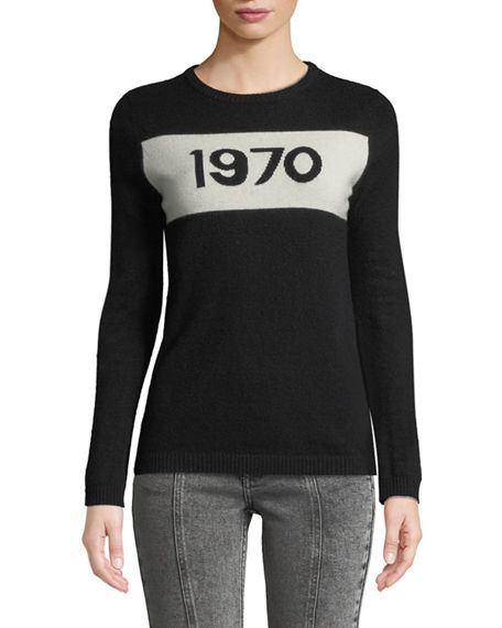 Bella Freud 1970 Graphic Pullover Sweater
