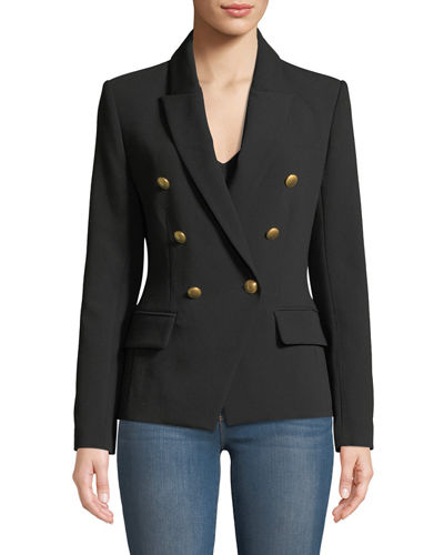 Kenzie Double-Breasted Blazer Jacket