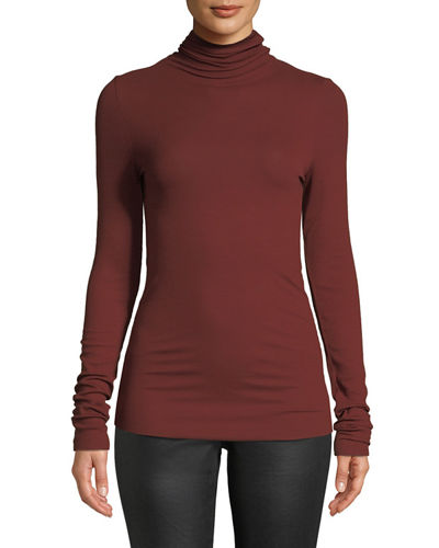 Chels Ribbed Turtleneck Sweater