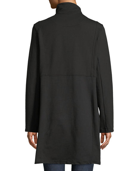 Image 3 of 4: Pure & Co Plus Size Kaitlyn Oversized-Button Jacket